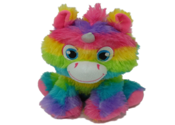 Rainbow toys (3 assorted mixed) – 8″