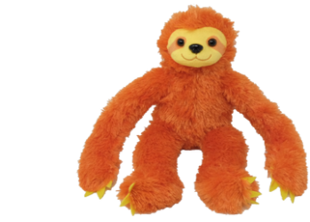 Sloth (3 colours) – 8″