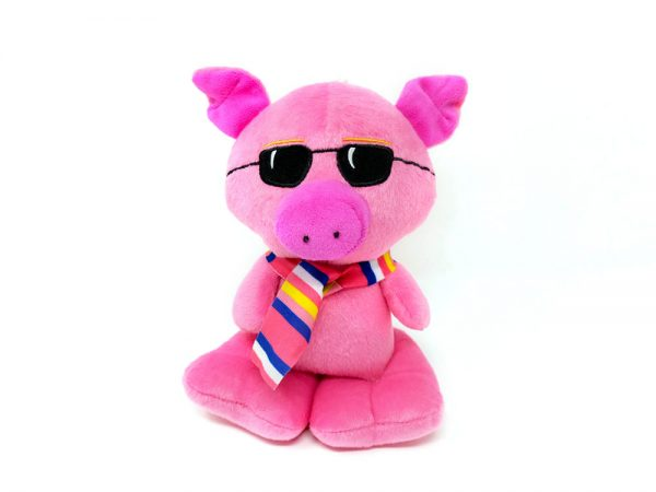 Pig with sunglasses – 8″