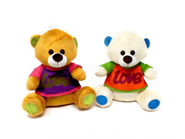 Medium Bears with Love Jacket (2 colours mixed) – 18″