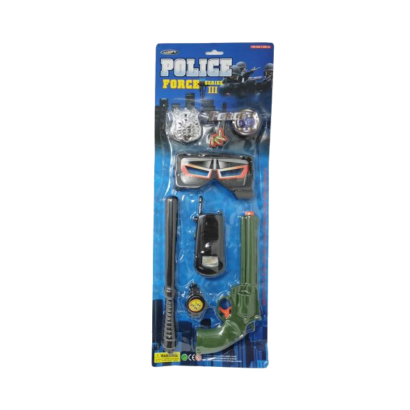 Toy Police force gun