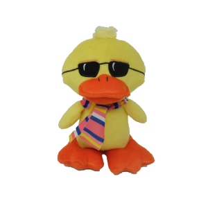 Duck with sunglasses – 8″
