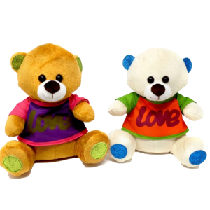 Medium – Bear with Love Jacket (2 colours mixed) – 12″