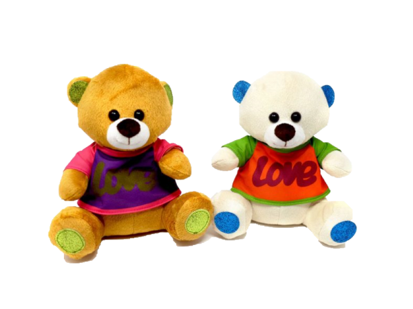 Bear with love jacket (2 colours mixed) – 8″