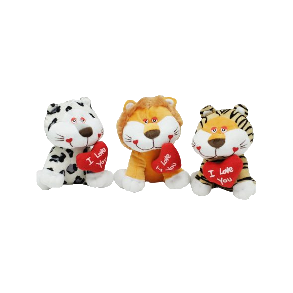 Wildlife animals with heart – 8″