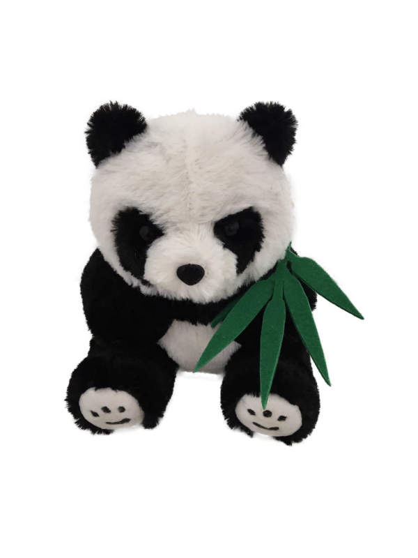 Panda with bamboo – 12″