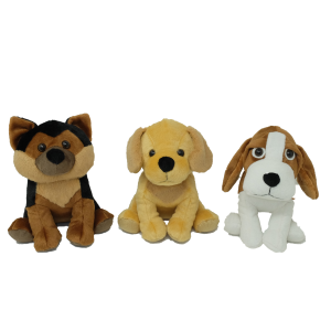 Dog (3 designs mixed) – 12″