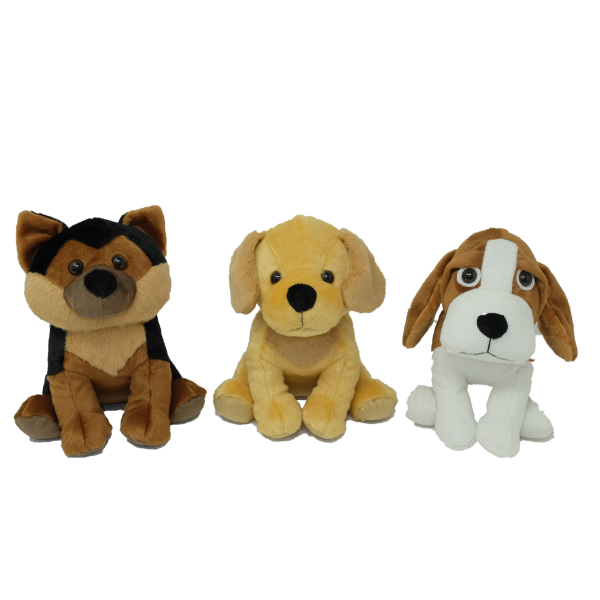 Dogs (3 designs mixed) – 18″