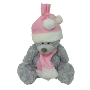 Grey bear (2 colours mixed) – 8″