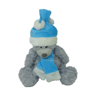 Grey bear (2 colours mixed) – 12″