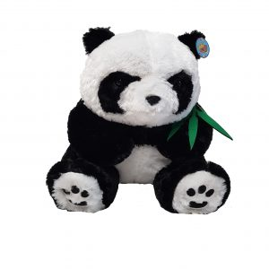 Panda with bamboo – 18″