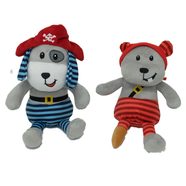 Pirate toys (2 assorted) mixed per carton – 8″