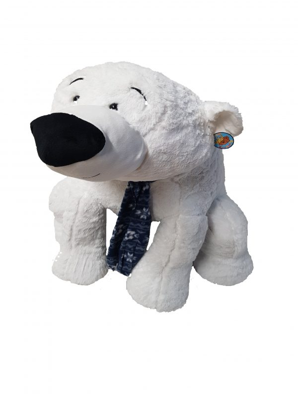 Polar bear with scarf – 28″