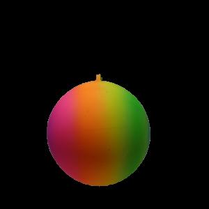 RAINBOW BALL 12″ (WITH KEY CHAIN)