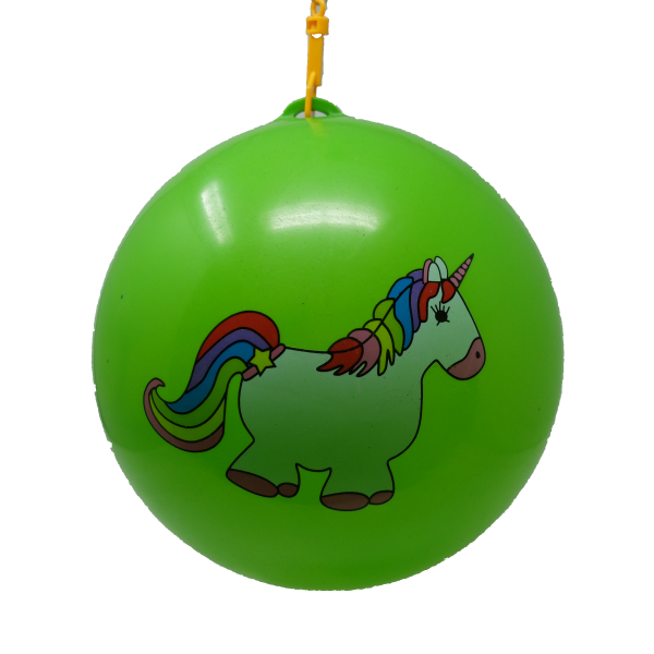 Unicorn ball + key chain